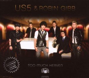 US5 feat. Robin Gibb - Too Much Heaven